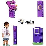 Toise Enfant kemket: idéal pour une chambre d'enfant ou bébé: une superbe idée cadeau Outil éducatif et amusant.