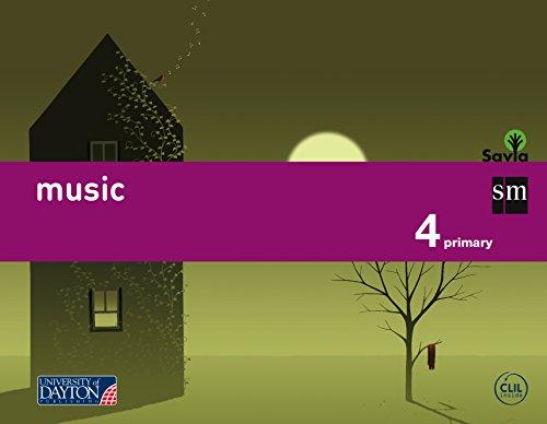 Music. 4 Primary. Savia - 9788415743774 por Ángel Müller Gómez