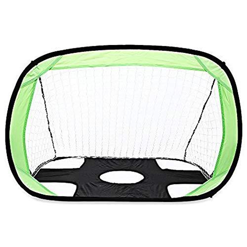 LEOO Fußball-Zielsatz - tragbares Futsal-Fußballnetz - das ursprüngliche Ziel des Abholspiels