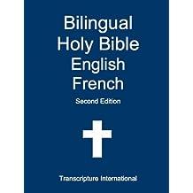 Bilingual Holy Bible English French (English Edition)