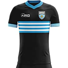 Camiseta Fútbol Uruguay. Airo Sportswear 2018-2019 Uruguay Away Concept Football Soccer T-Shirt Camiseta