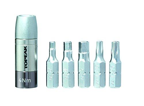 TOPEAK Nano torqbox 4mit 5Werkzeug-Bits, 4Nm Nano 4 Snap