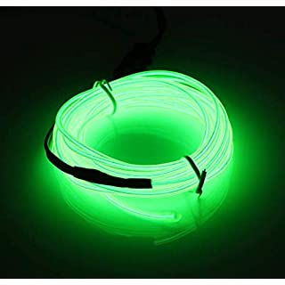 Wooya 300Cm EL Neon Light Effect Light Cable Cord Wire 12V Wechselrichter-Leuchtendes Grün