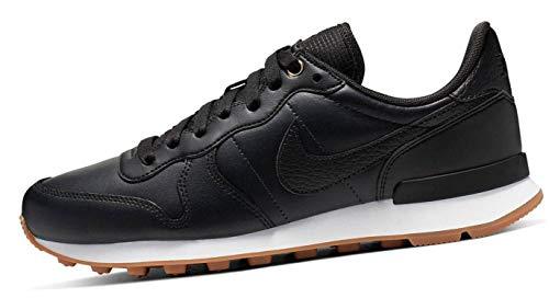 Nike Damen W Internationalist PRM Laufschuhe, Schwarz Off NoirWhiteGum Med Brown 020, 39 EU