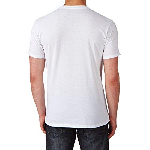 Alpinestars Herren T-Shirt Ageless 1032-72030 weiss-schwarz