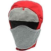A prueba de viento Unisex impermeable Sombrero de esquí Pasamontañas Máscara facial Motocicleta Escudo facial para