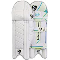 SG Nylite Light Weight Cricket Batting Leg Guard Pads Mens Size Right and Left (Color May Vary)