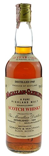 Macallan Jahrgang 1945 - Pure Highland Malt Scotch Whisky