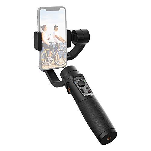 Hohem iSteady Mobile 3-Axis Gimbal Stabilizzatore per smartphone con Tracking Motion Ritardo Funzione di scatto / messa a fuoco e zoom per Samsung X8 Plus 7 6 SE Samsung Galaxy S9 + S9 S8 S7 S6