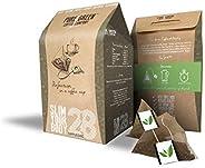 Pure Green Skinny Coffee - Programa de detoxificación-28 días. Ayuda con pérdida de peso y quema de grasa. Sup