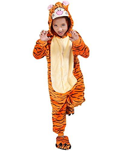 Molly Unisex Bambini Pigiama Fumetto Halloween Costume Cosplay Tigre 85