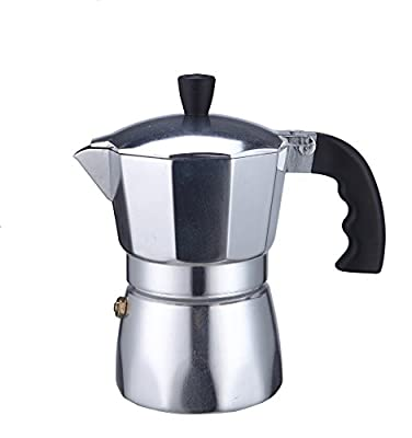 Borella casalighi Trend Cafetiere Coffee Maker 1 Cups, Aluminium, Grey from Borella