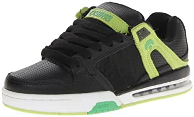 Osiris PIXEL 21018015, Herren Sneaker, Schwarz (Black/Lime/Silver), EU 42 (US 9)