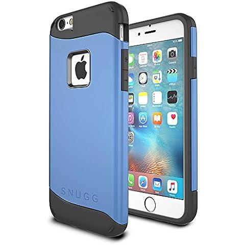 Funda iPhone 6 / 6s, Snugg Apple iPhone 6 / 6s Case Slim Carcasa de Doble Capa [Infinity Series] Revestimiento con Protección Anti-Golpes – Azul