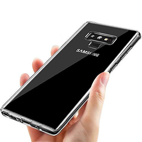 UBEGOOD-Custodia-Samsung-Galaxy-Note-9-Cover-Galaxy-Note-9-Alta-qualit-Ultra-magro-Anti-graffio-Samsung-Note-9-Bumper-Case-Silicone-TPU-Morbida-protettiva-per-Samsung-Galaxy-Note-9-Trasparente