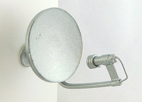Puppenhaus Klein Silber Satellitenschüssel Miniatur Moderne Metall Zubehör 1:12