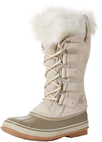 Sorel Damen Joan of Arctic Stiefel, beige (fawn), Größe: 38 Faux Suede Sneakers
