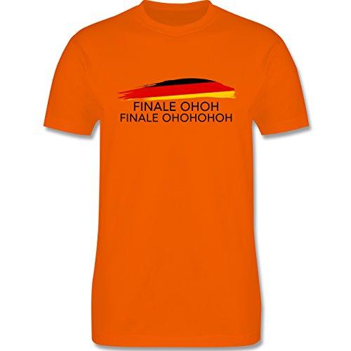 EM 2016 - Frankreich - Deutschland Finale OHOH - Herren Premium T-Shirt Orange