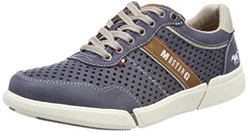 Mustang Herren 4122-301-800 Sneaker, Blau (Dunkelblau), 42 EU