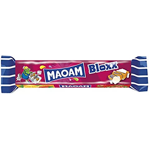 Haribo Maoam Bloxx barra 3 unidades, 30 paquetes á 3 unidades