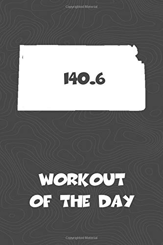 Workout of the Day: Kansas Workout of the Day Log for tracking and monitoring your training and progress towards your fitness goals. A great triathlon ... bikers  will love this way to track goals! por KwG Creates