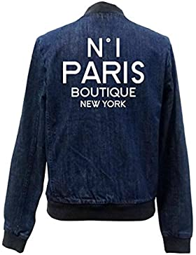 N°1 Paris Boutique Bomber Chaqueta Girls Jeans Certified Freak