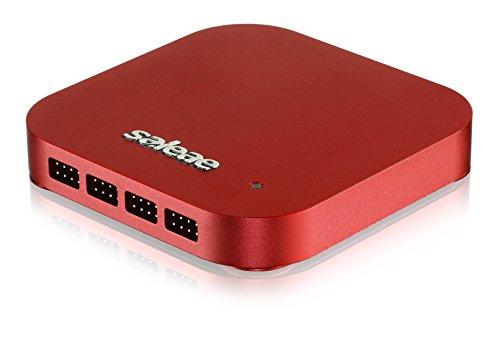 Logic Pro 16 (Rosso) - Analizzatore Logico Saleae a 16 Canali
