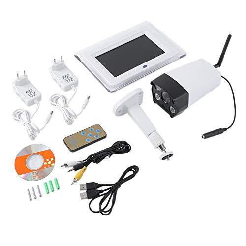 Eduton IP-HD-Video-Ãœberwachungskamera-Sicherheitssystem mit 7-Zoll-LCD-Display Single Use-video-kamera