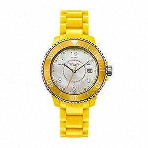 Thomas Sabo WA0113-249-202-39 mm - Reloj de pulsera para mujer, amarillo de Thomas Sabo