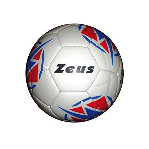 Zeus Fußball Kalypso Ball Training Fußball Hallenfußball, BIANCO, 5