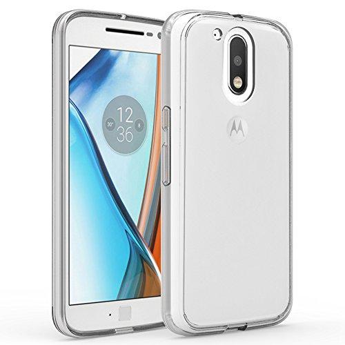 Preisvergleich Produktbild Motorola Moto G4 / G4 Plus Handy Tasche, FoneExpert® Ultra Air Hybrid Air-Cushion Kantenschutz Technologie - Bumper Case Durchsichtige Rückschale Hülle Cover schutzhülle für Motorola Moto G4 / G4 Plus (Crystal Clear)