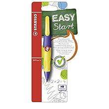 Handwriting Pencil - STABILO EASYergo EASYergo 1.4 Right Handed Violet/Neon Yellow