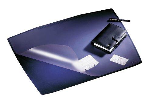 Durable 720107 Schreibunterlage Artwork (mit transparenter Abdeckung, 650 x 520 mm) dunkelblau