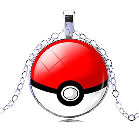 POKEMON- Collier Pokemon Ball modèle