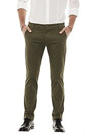7ba66b47664e5 Entre Amis pantaloni uomo lunghi con tasca america P188201 238L17 (32