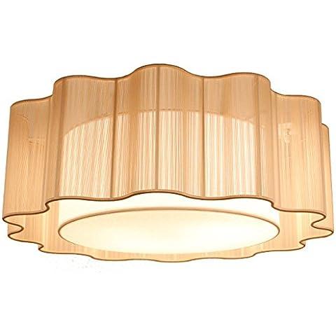 Io sono un elegante lampadario-tessuto a mano seta annodato lampadario - Annodato Cavo Seta