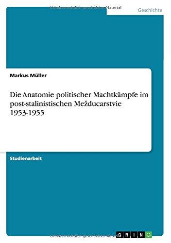 Die Anatomie politischer Machtkämpfe im post-stalinistischen Mezducarstvie 1953-1955