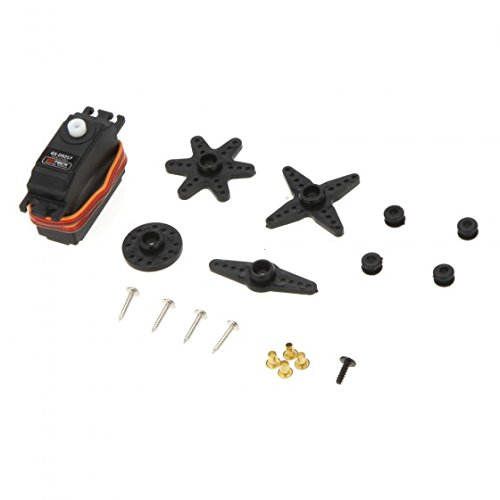 Price comparison product image Kingzer GS-D9257 Digital Tail Rudder Plastic Servo for Align Trex 450 500 RC Helicopter