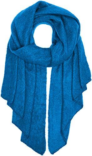 PIECES Damen PCPYRON Long Scarf NOOS Schal, Blau Victoria Blue, One Size