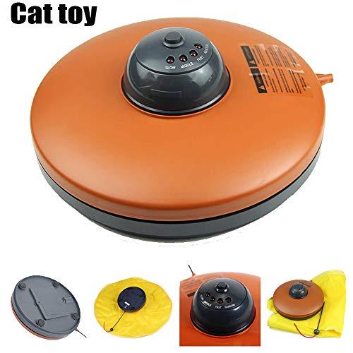 Elektronisch Bewegung Haustier Katze Spielzeuge Aktiv Spaß Spiel Interaktiv mit Maus Zauberstab 4 Geschwindigkeit die Einstellungen Verborgen Bewegung Spielzeug Kätzchen Aktiv Ausbildung Vorräte (Spa-aktiv)