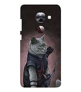 EPICCASE meow warrior Mobile Back Case Cover For LeEco Le Max2 (Designer Case)