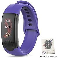 Flower205 pulsera inteligente I11 pantalla de color movimiento inteligente reloj Bluetooth inteligente frecuencia cardíaca presión arterial deportes paso pulsera a prueba de agua con monitor de frecue