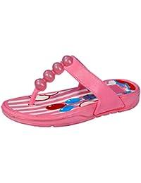 Onbeat Girls Pink Flip-Flops & Slippers