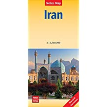 Iran - Irán: 1:1.750.000 | reiß- und wasserfest; waterproof and tear-resistant; indéchirable et imperméable; irrompible & impermeable (Nelles Map / Strassenkarte)