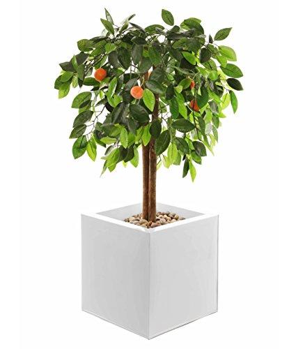 Closer To Nature Kunstblumen 3Ft 7,6cm orange Tree–Kunstpflanze Seide und Baum Serie