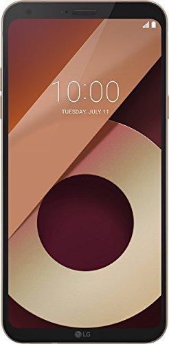 LG Q6 Smartphone Dual SIM FullVision 5.5'', Batteria da 3000 mAh, Fotocamera 13 MP + 5 MP Grandangolare, Octa-Core 1.4 GHz, Memoria 32 GB, 3 GB RAM, Android 7.1.1 Nougat, Terra Gold [Italia]