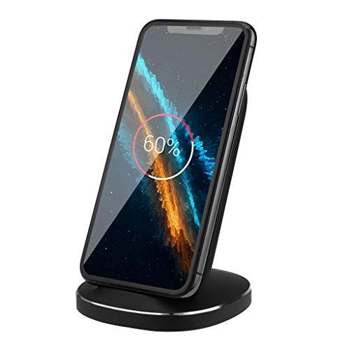 Preisvergleich Produktbild schnelles Ladegerät Kabelloses Fast Wireless Charger Schnellladestation für Samsung S10 für iPhone Wireless-Ladestation Einem Multifunktional Portable mehrere Ladegerät (1PC)