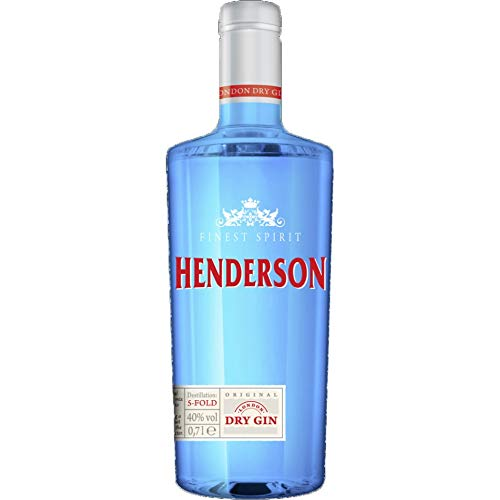 Henderson London Dry Gin (1 x 0.7 l) Flasche -