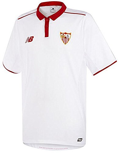 Camiseta jr Sevilla FC Home 2016-2017 Blanco-Rojo Talla MB