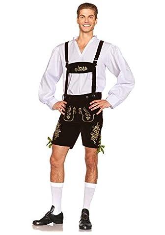 Leg Avenue Oktoberfest Lederhosen Costume (Small,